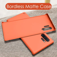 Luxury Fashion Slim Hard PC Frameless Case For Samsung Galaxy Note 10 Series