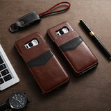 Leather Flip Case For Samsung Galaxy S9 S9 Plus Galaxy S8 S8 Plus