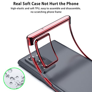 Luxury Ultra-thin Plating Soft Silicone Protective Case for Samsung Galaxy S20 & Note 20 Series