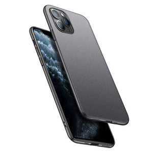 Ultra thin Sandstone Full Cover Hard Matte Case For iPhone 12 Series