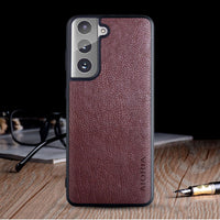 Leather S21 Ultra Case