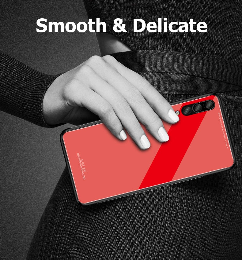 For Samsung Galaxy A7 2018 Case Luxury Slim Fit - The Bananas Store
