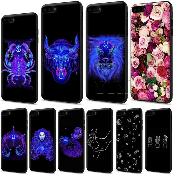 Zodiac Signs Silicone Soft Case for iPhone 11 Pro Max 1