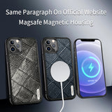 Magsafe Wireless Charging Leather Magnectic Case For iPhone 12 Series