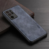 Soft TPU Silicone Leather Case For Samsung Galaxy Note 20 Series