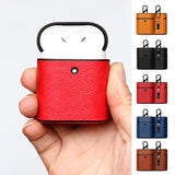 Delicate Leather Earphone Cases for Airpods 1 2