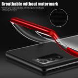 Luxury Plating Sillicone Cover Clear Case For Samsung Galaxy Note 20 Series