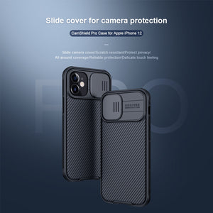 CamShield Pro Case Slide Camera Protect Privacy Back Cover Case For iPhone 12 Series