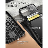 iPhone 12 Pro Max Card Holder Case