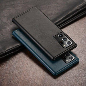 Luxury Fashion Vegan Leather Shockproof Phone Case For Samsung Galaxy Note 20 Series