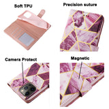 Leather Magnetic Card Slot Wallet Bracket Cover Case for Samsung Galaxy S21 Series
