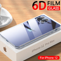 iPhone 12 Pro Max Luxury tempered Glass Case