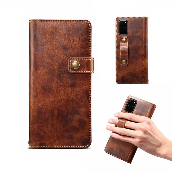 Samsung Galaxy S20 Ultra Leather Holster Case
