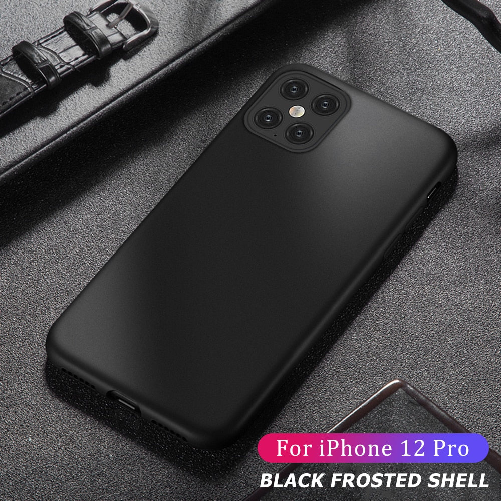 Soft Silicone Shockproof Protection Case For iPhone 12 Pro Max