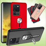 Kickstand 5g Bumper Fitted Case With Finger Ring For Samsung S20 Series