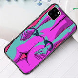 Sexy Cartoon TPU Luxury Half-wrapped Case For iphone 11 S