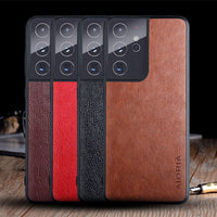 s21 leather case