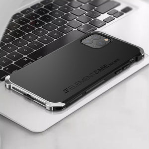 Armor Metal Aluminum Heavy Duty Protective Silicone Case For iPhone 11 Series