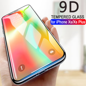 9D Advanced Screen Protective Glass For iPhone X XS XS Max