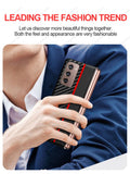 Original Carbon Fiber Texture Leather Back Cover Shockproof Phone Case for Samsung Galaxy Z Fold 2