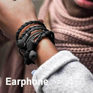 Wired Bracelet Earphone With Microphone 3.5mm