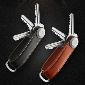 Genuine Leather Creative Mini Key Holder