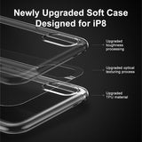 Ultra Thin Soft Silicone Case For iPhone X