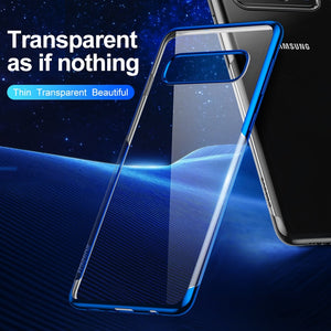 Ultra Thin 0.2mm Luxury Plating Phone Case For Samsung Galaxy S10 S10 Plus