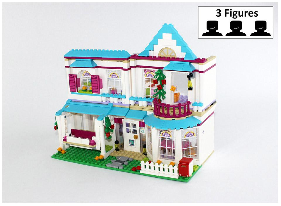 The Stephanie's House 41314 Bricks Figure