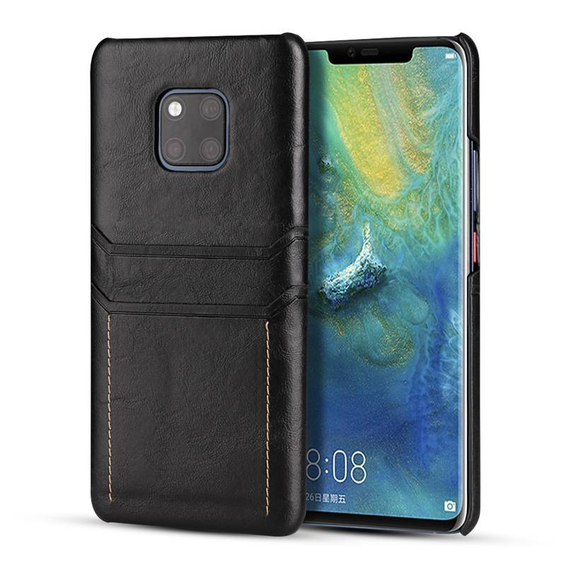quality design 60ac1 a7086 Business Style Leather Case for Huawei Mate 20 Pro Mate 20X Lite