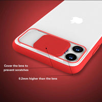 Camera Lens Protection Transparent Anti-knock Case For iPhone 11 Series