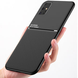 Brand new Design Ultra Thin Car Magnetic Soft Cover Case for Samsung Galaxy S20 Plus Ultra