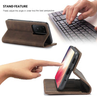 Retro Flip Case Auto Magnetic Close For Samsung Galaxy S20 S20 Plus S20 Ultra