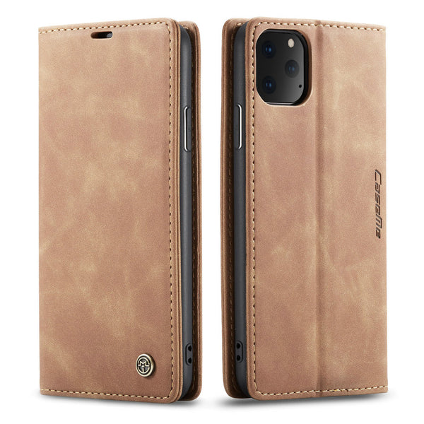 Retro Magnetic Wallet Case For iPhone 11 Pro Max