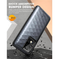 Hybrid Protective Card Holder Case for Samsung Galaxy S20 Ultra