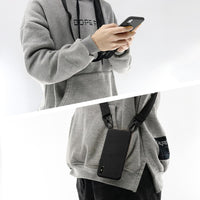 Travel Lanyard Silicone Cover with Neck Strap for iPhone 11