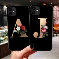 Custom Letter Case Soft TPU Cover Support Wireless Charging for iPhone 11 Pro Max