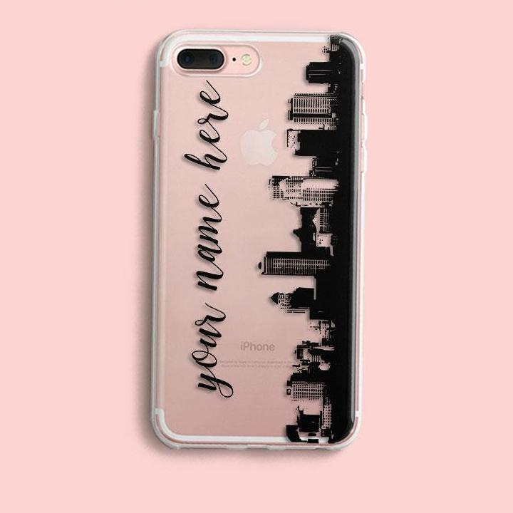 new arrival c2533 7d4c5 DIY Name Custom Design Print Case Cover For iPhone Soft Silicone TPU Coque  Capa