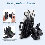 360 Degree Bicycle Phone Holder for IPhone Samsung Xiaomi