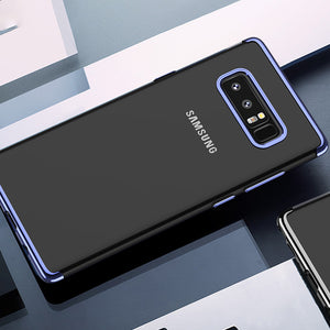 Luxury Case For Samsung Note 8 S8 S9 Plus Transparent Silicon
