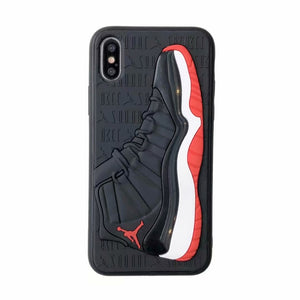 Fashion 3D NBA Air Dunk Jordan Sports Basketball Shoes Cases For iphone 6 6S 7 8 Plus X XS XR MAX