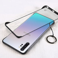 Hard PC Transparent Slim Matte Protective Back Cover Case for Samsung Galaxy Note 10 Note 10 Plus