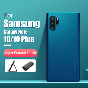 Frosted Matte Cover For Samsung Galaxy Note 10 Plus Gifted Phone Holder
