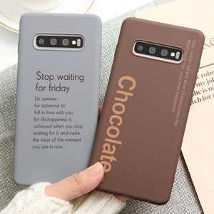 High Quality Soft Silicone TPU Anti-knock Case For Samsung Galaxy S20 S10 Note 10 9