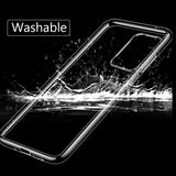 Slim Soft Transparent High Clear TPU Full Protection Cases For Galaxy S20 Plus Ultra
