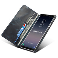 For Samsung Note 9 High Quality Genuine Leather Wallet Case