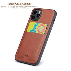 Luxury Leather Card Holder Wallet Case Cover For iPhone 11 11 Pro 11 Pro Max