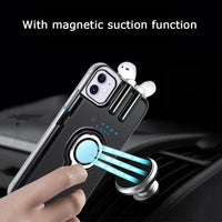 Finger Ring Holder Anti-drop Casr For iPhone 11 Pro Max X XR XS Max Can Charge AirPods 1 2