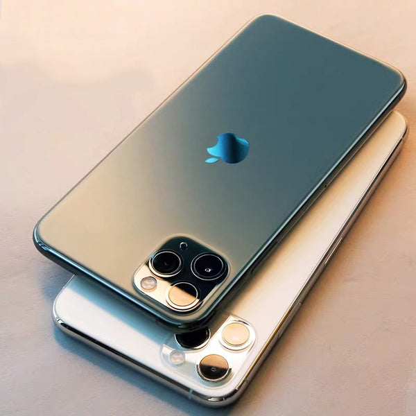 Luxury Laser Plating Soft Semi Transparent Matte Full Protection Case For iPhone 11 Series