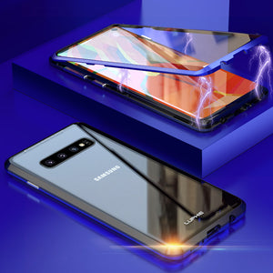 Full Body 360 Magnetic Bumper Cover Case For Samsung Galaxy S10 S10 Plus S9 S9 Plus Note 9